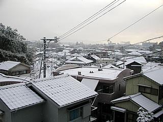 市内積雪写真